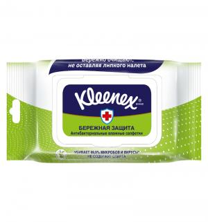 Влажные салфетки  антибактериальные, 40 шт Kleenex