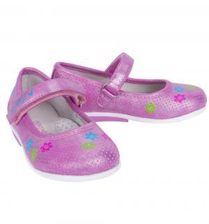 Туфли , цвет: фиолетовый Indigo Kids