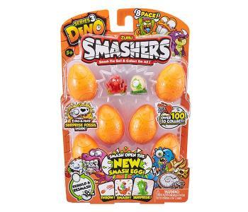 Дино-сюрприз в яйце 8 шт. Zuru Smashers