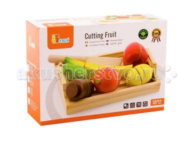Деревянная игрушка  Набор фруктов разрезных Viga
