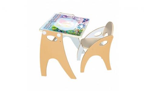 Набор мебели Части света парта-мольберт и стульчик Интехпроект