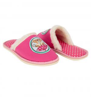 Тапочки , цвет: розовый Forio