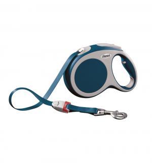 Рулетка VARIO ленточная L, 5м, до 60 кг, цвет: синий Flexi