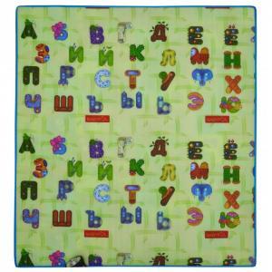 Игровой коврик  Двойной алфавит 200х180 см BabyPol