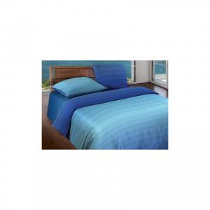 Постельное белье 2,0 сп. Flow Blue БИО Комфорт,  Motion Wenge