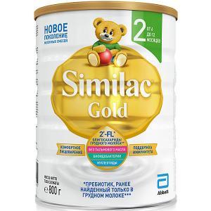 Молочная смесь  Gold 2, с 6 мес, 800 г Similac
