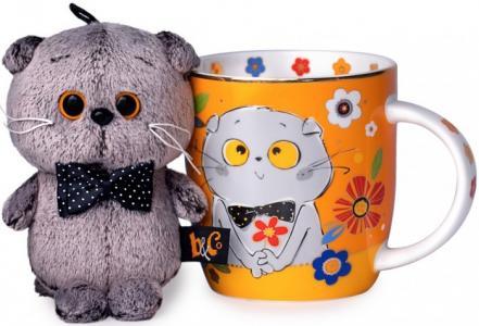 Набор подарочный: кружка и игрушка Басик Budi Basa