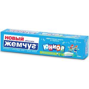 Зубная паста Новый Жемчуг Юниор яблоко и мята, 50 мл Невская косметика