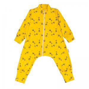Комбинезон  Жирафы, цвет: желтый Bambinizon