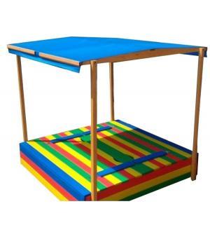 Тент для песочницы  Славушка, цвет: синий Можга