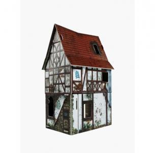 Сборная модель из картона Игра без правил Заброшенный дом Умная бумага
