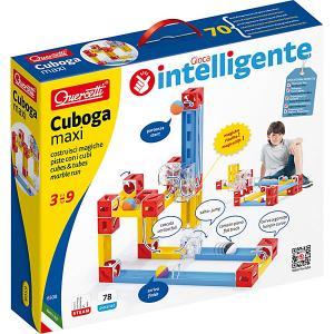 Конструктор  Кубики, 78 деталей Quercetti. Цвет: разноцветный