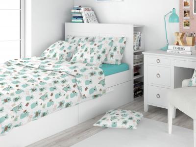 Комплект постельного белья  Животные/коалы Amore Mio