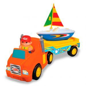 Развивающая игрушка  Трейлер с яхтой Kiddieland