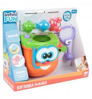 Игрушка для ванной  Kidz Delight Корзинка рыбака 1Toy