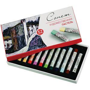 Художественная пастель 3ХК Сонет, 12 цветов Невская палитра