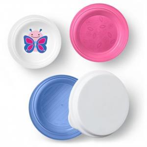 Набор контейнеров для завтрака Бабочка Skip-Hop