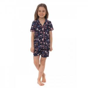 Комплект для девочки US-453 (рубашка, шорты) U.S. Polo Assn.
