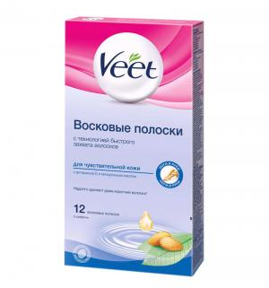 Полоски Veet восковые для чувствительной кожи