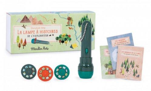Развивающая игрушка  Фонарь-проектор Исследователь Moulin Roty