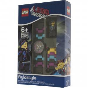 Часы наручные аналоговые с минифигурой Lucy на ремешке, LEGO Детское время