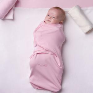 Пеленка SwaddleFun M, цвет: розовый Pecorella