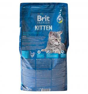 Сухой корм  Premium для котят, курица в лососевом соусе, 8кг Brit