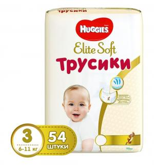 Трусики-подгузники  Elite Soft 3 (6-11 кг) 54 шт. Huggies