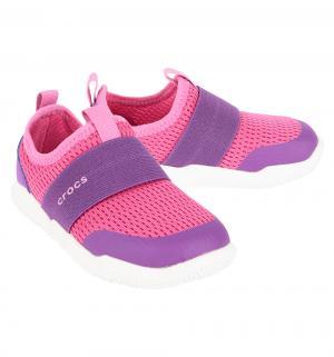 Кроссовки  Swiftwater Easy-on Candy Pink/Amethyst, цвет: розовый Crocs