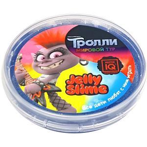 Слайм  Jelly Slime в шайбе, 75 гр Master IQ2. Цвет: разноцветный