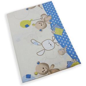 Комплект постельного белья  В уютных облачках голубой Soni Kids. Цвет: голубой