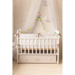 Детская кроватка  Версаль (поперечный маятник) ByTwinz