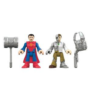 Игровой набор  DC Super Friends Superman Metallo Imaginext
