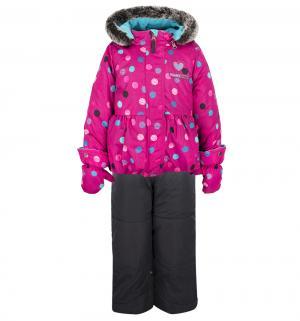 Комплект куртка/брюки Peluche&Tartine, цвет: розовый Peluchi&Tartine