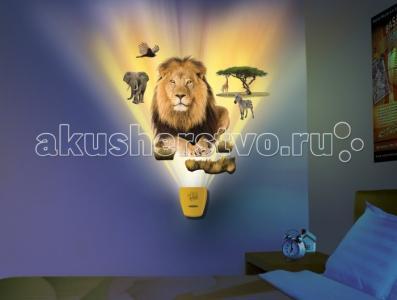 Настенный проектор Африканское сафари In My Room Uncle Milton