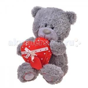 Мягкая игрушка  Медвежонок Дэнни с сердцем 24 см Lava