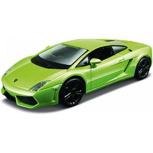 Машинка  Lamborghini Gallardo LP 560-4, 1:32 Bburago. Цвет: зеленый