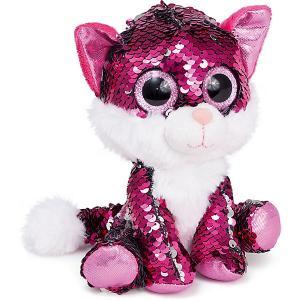 Мягкая игрушка  Котик Рубин Fancy. Цвет: розовый