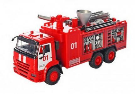 Пожарная машина инерционная Автопарк Play Smart