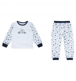 Пижама джемпер/брюки , цвет: белый Mamatti