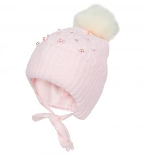 Шапка  Sally II, цвет: розовый Jamiks