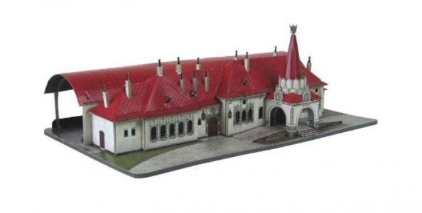 Сборная модель из картона Императорский павильон Умная бумага