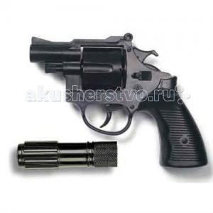 Игрушечный Пистолет с глушителем Американский полицейский/Americana Polizei 22,1 см Edison