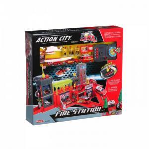 Игровой набор Пожарная станция звук свет 28369 RealToy