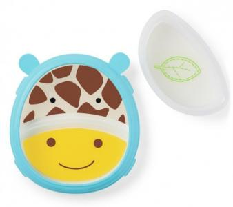 Тарелка 2 в 1 Жираф Skip-Hop