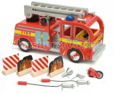 Игровой набор Пожарная машина LeToyVan