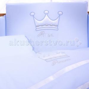 Комплект в кроватку  Princess (6 предметов) Tuttolina