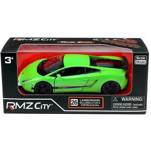 Металлическая машинка  Lamborghini Gallardo LP570-4 Superleggera, 1:36 RMZ City. Цвет: разноцветный