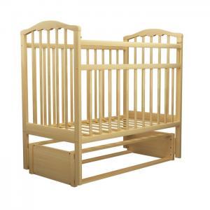 Детская кроватка  Золушка-5 маятник продольный Агат