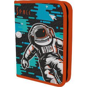 Жёсткий пенал Академия Групп Seventeen Космонавт, без наполнения. Цвет: разноцветный